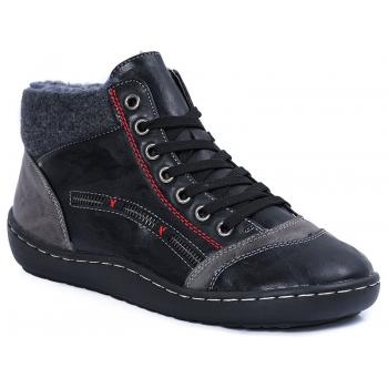 CASUAL 9612 BLACK-GREY