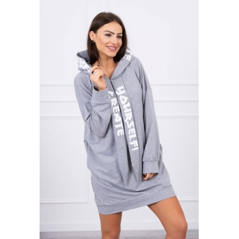 PULOVER 0042 GRAY