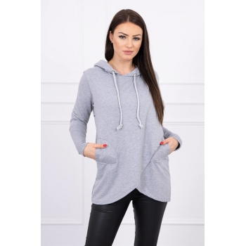 PULOVER 0081 GRAY